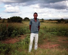 Mbongeni Dlamini is a 21-year-old living with HIV and mentoring teenagers in rural Swaziland. HEATHER MASON